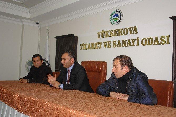 Yüksekova'da Sınır Kapısı Toplantısı