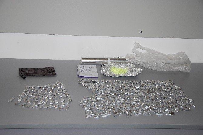 Satışa Hazır Uyuşturucu Paketleri İle Yakalandı
