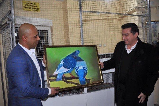 Başkan Bakıcı Güvercin Sevenler Derneği'ni Ziyaret Etti