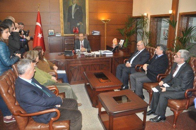 Zonguldak Valiliği Tarafından Termik Santrallerin Baca Gazları Ve Atıkları Bilgilendirme Toplantısı Yapıldı