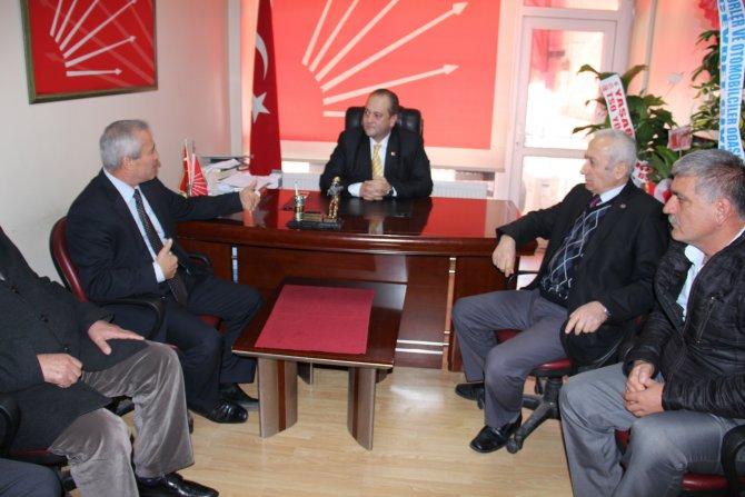 Civelek ve yönetiminden CHP' ye ziyaret