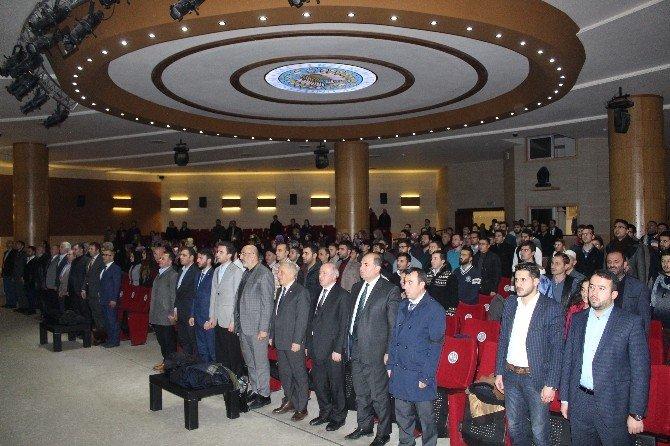 2016'ya Girerken Türkiye Orta Doğu Ve Dünya Konferansı Verildi