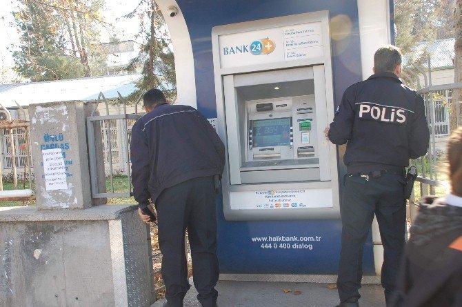 Atm'nin Çalan Alarmı Polisi Harekete Geçirdi
