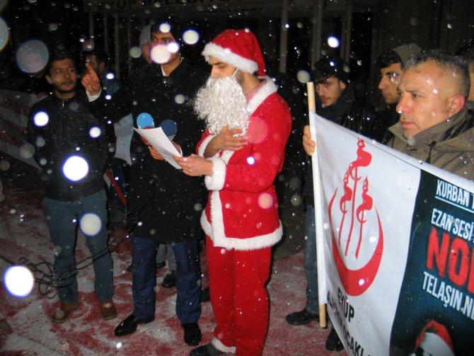 Noel Baba Müslüman oldu