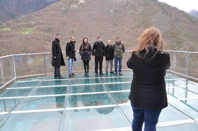 Türkiye'nin En Yüksek Cam Seyir Terasının İnşası Tamamlandı