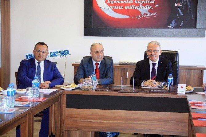 Bozok Üniversitesi Senatosu Sorgun'da Toplandı