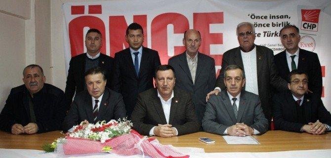 Çanakkale CHP İl Başkanı Nejat Önder Mazbatasını Aldı