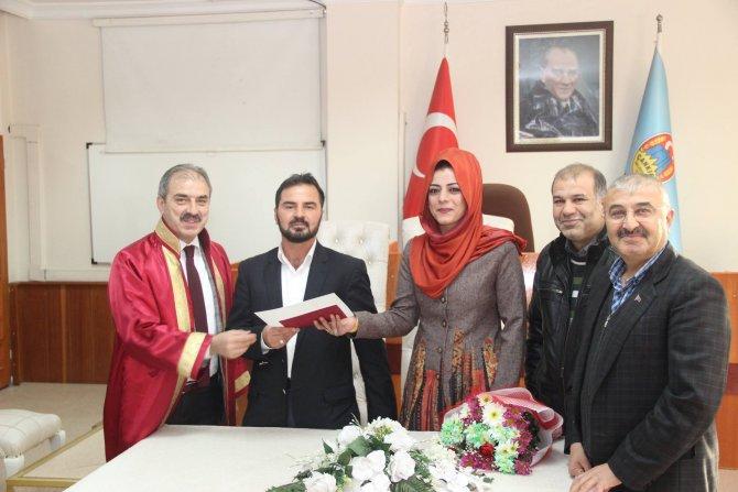 Çankırı'da 2015'de 653 çift dünya evine girdi