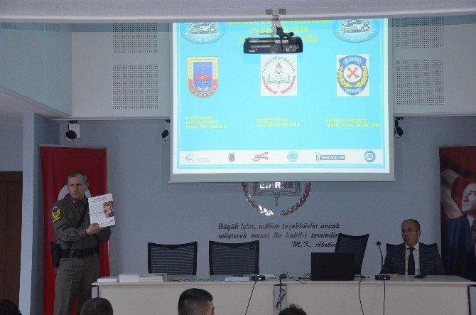 Okul Servis Şoförleri Eğitimi Semineri Verildi