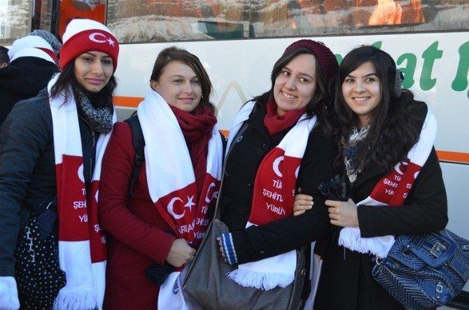 Erzurum, Sarıkamış Şehitlerini Anacak