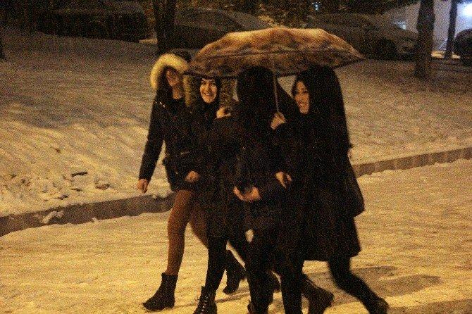 Erzurum'da Kara Kış