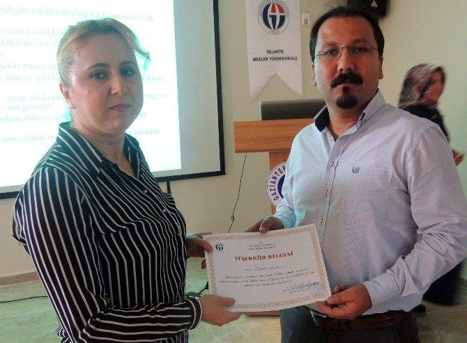 İslahiye MYO'da 'Viral Hepatitler' Konferansı Düzenlendi