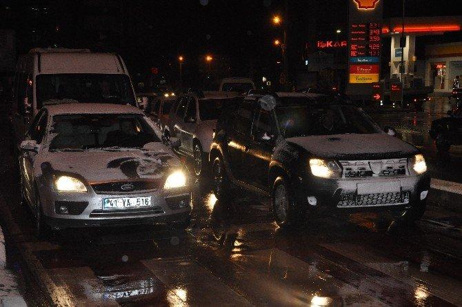 Kar Gebze'de Etkisini Arttırdı