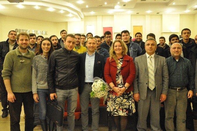 """GTÜ'de """"Sporda Etik Davranışlar"""" Konulu Söyleşi Düzenlendi"""