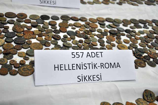 Hatay'da 5 bin parça tarihi eser ele geçirildi