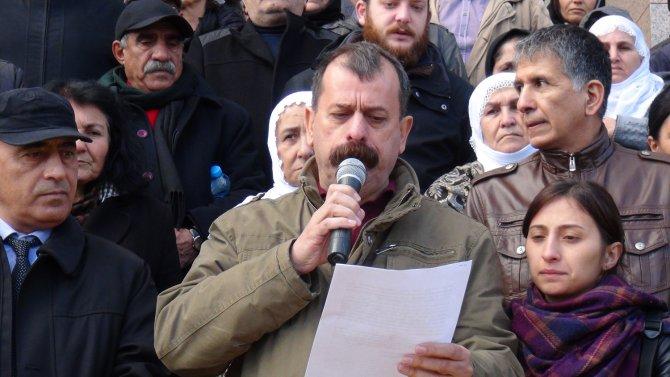 HDP'lilerin gözaltına alınması protesto edildi
