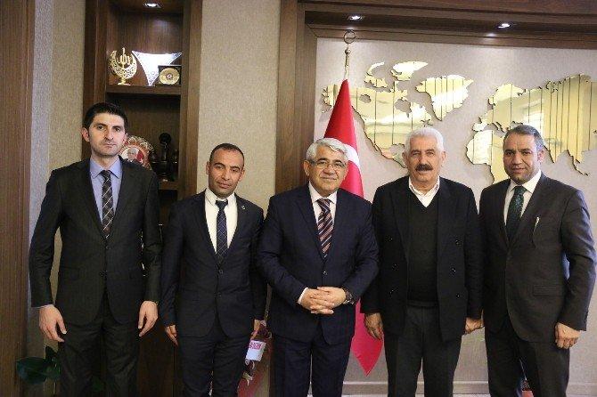 Hizmet İş Sendikası'ndan Başkan Karaçanta'ya Ziyaret