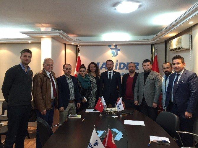 İzmirli Yatırımcılardan Magider'e Ziyaret