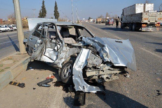 Türkoğlu'nda 3 Araç Kaza Yaptı: 3 Yaralı