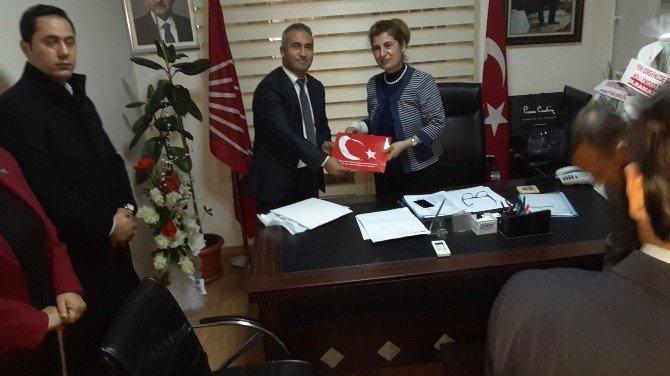 Kamu-sen'den CHP İl Başkanı'na Hayırlı Olsun Ziyareti