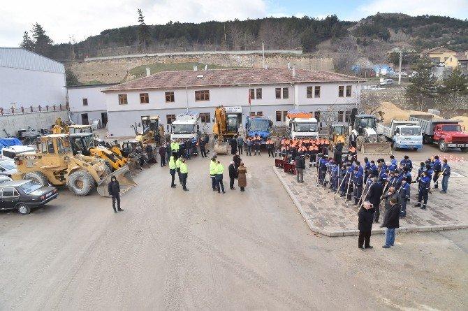 Kastamonu Belediyesi Karla Mücadeleye Hazır