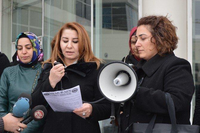 Memur-sen Kadınlar Komisyonu İl Başkanı Ayten Özsoy: