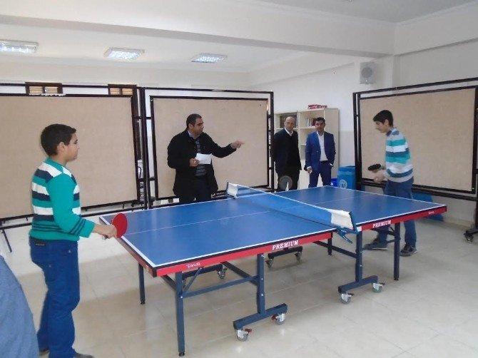 Semt Konaklarında Masa Tenisi Turnuvası