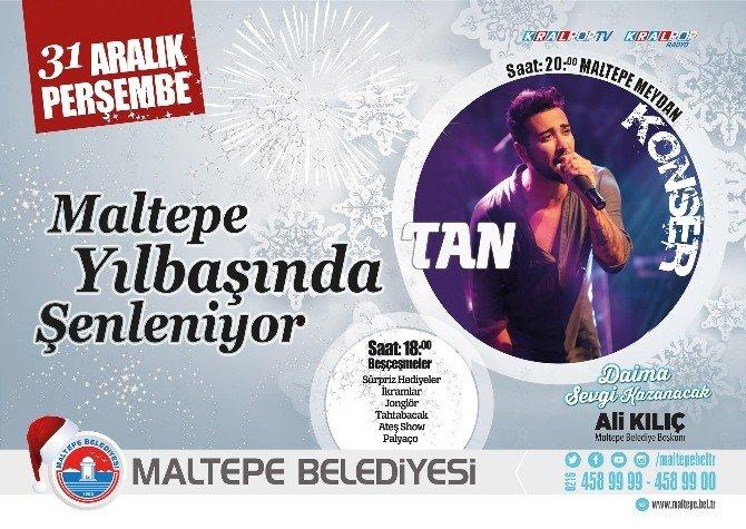 Maltepe'deki Yılbaşı Konserine 'Kar' Engeli