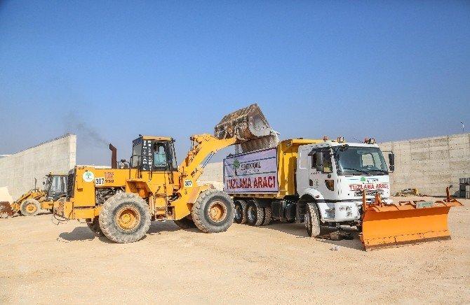 Şehitkamil'de Ekipler Kar Yağışına Karşı Hazır Kıta