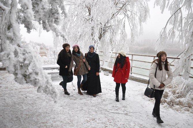 Muş'ta Sibirya Soğuğu