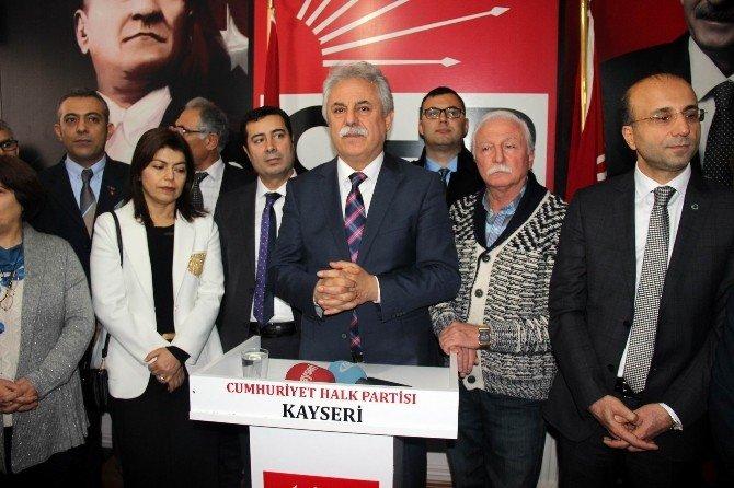 CHP İl Başkanı Keskin Görevi Teslim Aldı