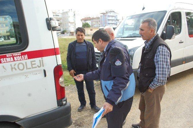 Manavgat'ta Öğrenci Servislerine Denetim