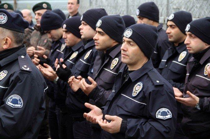 Samsun Emniyet Müdürlüğü Doğudaki Polisler İçin Kurban Kesti