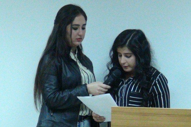Yüksek Okulu Öğrencilerinden Şiir Dinletisi