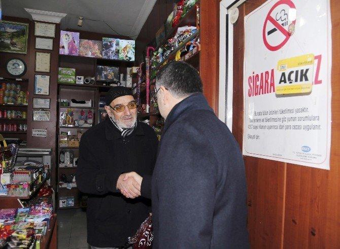 Başkan Keskin'den Esnafa Sabah Sürprizi