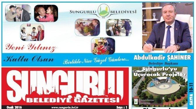 Sungurlu Belediye Gazetesinin İlk Sayısı Çıktı