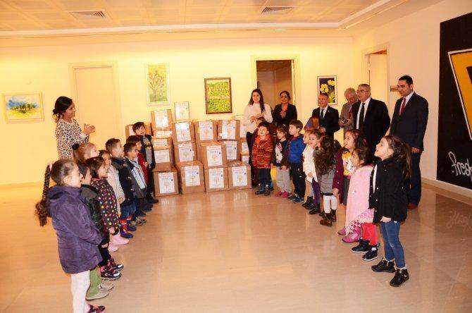 Çorlulu öğrencilerden Şanlıurfa'ya yardım