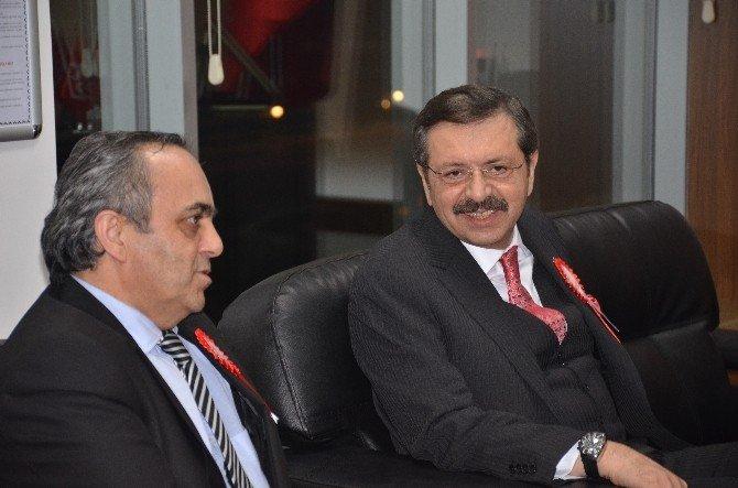 TOBB Başkanı Hisarcıklıoğlu'ndan Bilecik Ziyareti