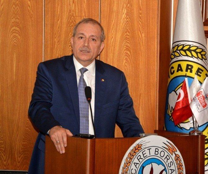 """ATB Başkanı Bilgiç: """"Terörle Hem Biz Hem De Ülke Kaybediyor"""""""