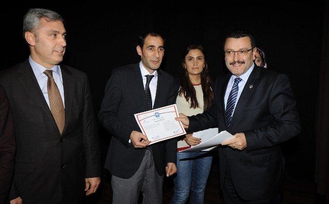 Trabzon'da 10. Kalkınma Planı Öncelikli Dönüşüm Programına Katılanlara Sertifikaları Verildi