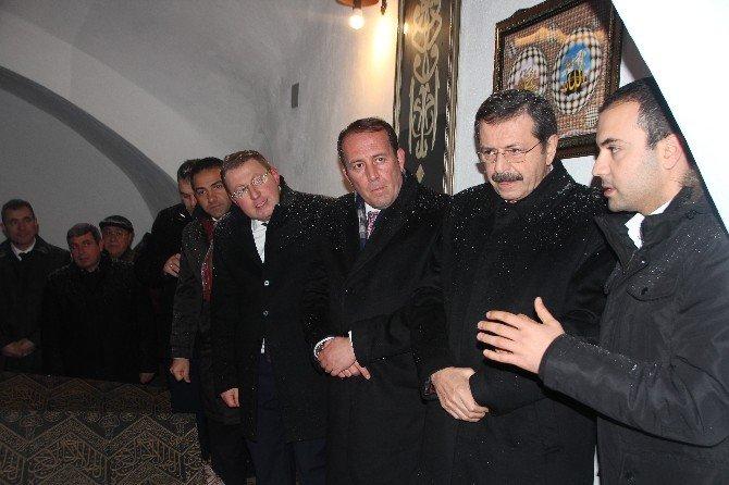 TOBB Başkanı M. Rifat Hisarcıklıoğlu'ndan Bilecik Belediyesi Ziyareti