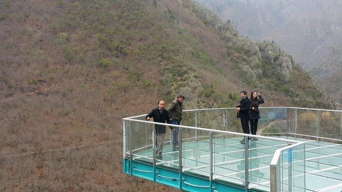 Türkiye'nin en yüksek cam seyir terası tamamlandı