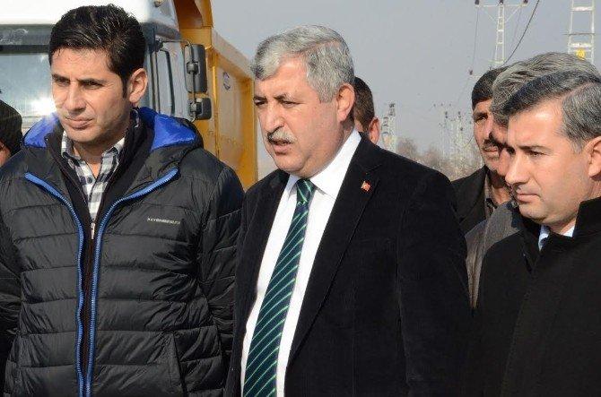 Başkan Polat, Çalışmaları Yerinde İnceledi