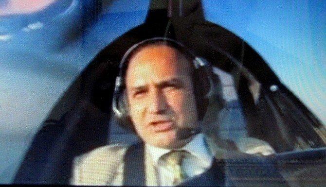 Kaymakam Gyrocopter İle Çeşme Semalarında Uçtu
