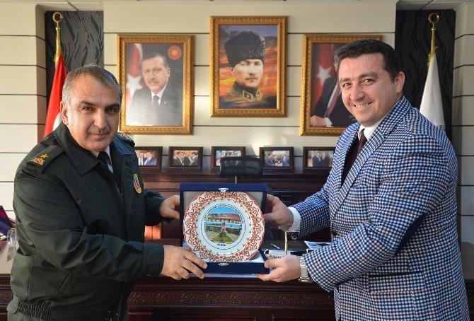 Tuğgeneral Halis Zafer Koç, Başkan Bakıcı'yı Ziyaret Etti
