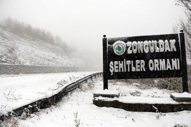 Kar Yağışı Trafiği Olumsuz Etkiledi