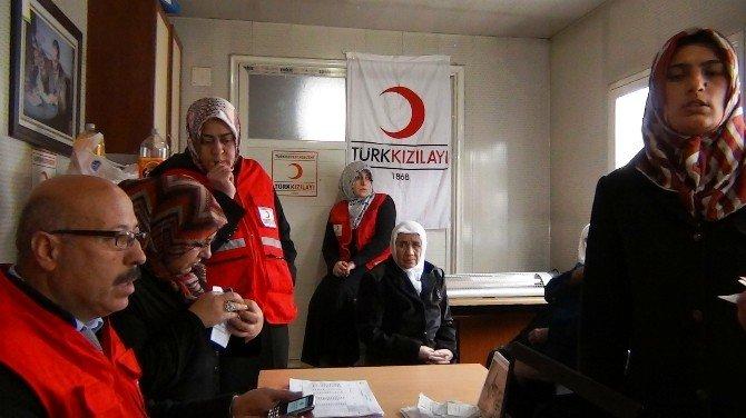 Kızılay'ndan 152 Kişiye Nakdi Yardım