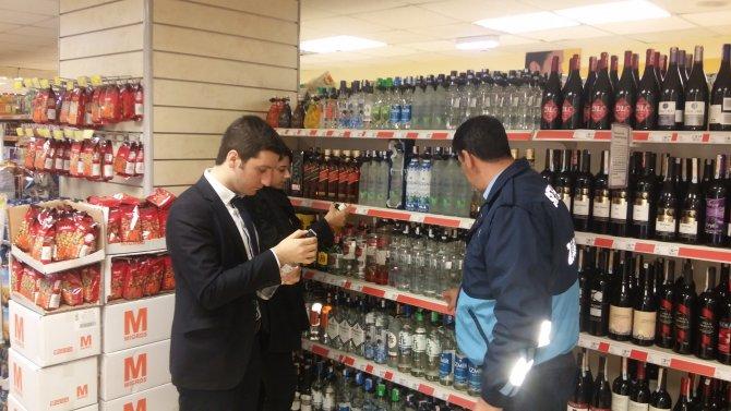 Seyhan'da sahte içki ölümlerine karşı denetimler arttı