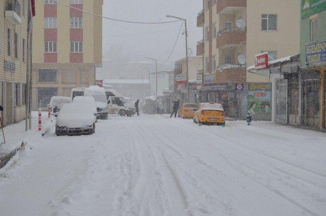 Adilcevaz'da Kar Tatili