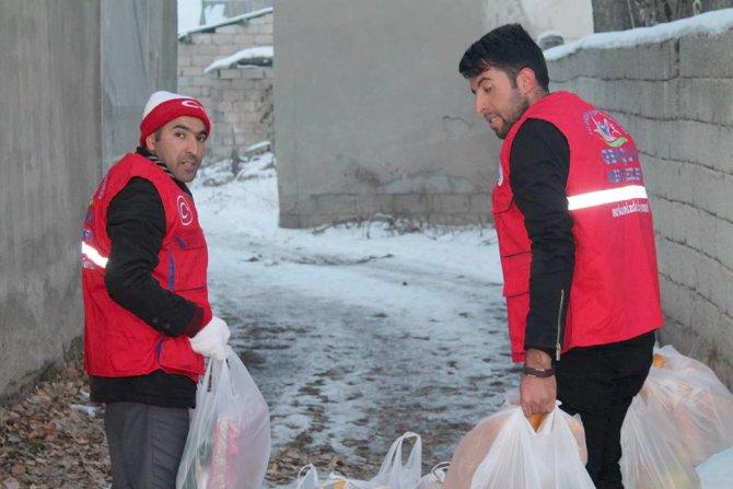 GHSİM'den Suriyeli ailelere yardım